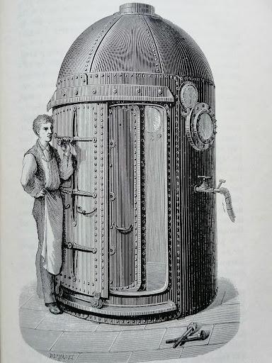 camera iperbarica del 1800